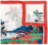 Emilio Pucci palm tree print scarf