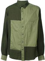 Yohji Yamamoto H-Siv Roll-Up Shirt Dyed - men - Cupro/Cotton - 3