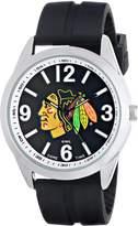 "Game Time Men's NHL-VAR-CHI ""Varsity"" Watch - Chicago Blackhawks"