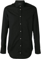 John Richmond embroidered hem shirt