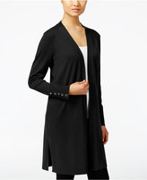 JM Collection Open-Front Duster Cardigan, Only at Macy's