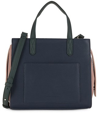 French Connection Barton Faux Leather Satchel