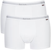 Paul Smith Men's 2 Pack Boxer Shorts White