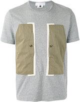 Comme des Garcons colour block T-shirt - men - Cotton - M