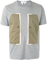 Comme des Garcons colour block T-shirt - men - Cotton - S