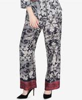 Rachel Roy Paisley-Print Straight-Leg Pants, Created for Macy's