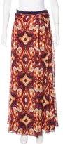 Tory Burch Silk Maxi Skirt