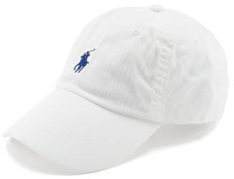 Polo Ralph Lauren Logo-embroidered Cotton-twill Cap - White