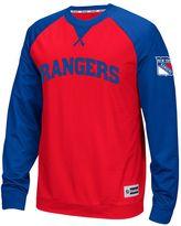 Reebok Men's New York Rangers Finished Raglan Tee