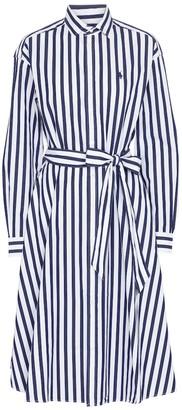Polo Ralph Lauren Striped cotton poplin shirt dress