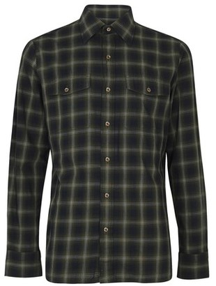 Tom Ford Faded dark check shirt