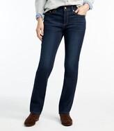 L.L. Bean L.L.Bean Women's BeanFlex Jeans, Favorite Fit Straight-Leg