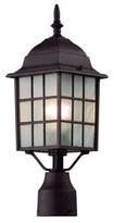 Tucker 1-Light Lantern Head Charlton Home Finish: Rust