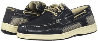 Dockers Beacon (Dark Tan Leather) Men's Slip on Shoes