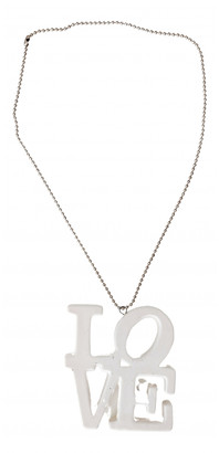 Seletti White Ceramic Necklaces