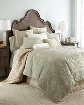 Jane Wilner Designs King Ivory Sham with Embroidery