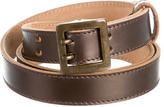 Jil Sander Metallic Waist Belt