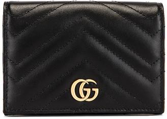 Gucci Leather Passport Case in Black | FWRD