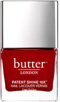 Butter London butter LONDON Patent Shine 10X Nail Lacquer 11ml - Her Majesty's Red