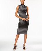 MICHAEL Michael Kors Striped Bodycon Dress