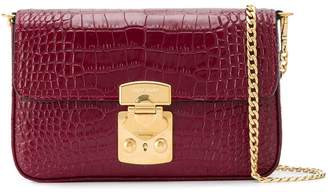 Miu Miu crocodile-effect crossbody bag