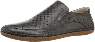 Stacy Adams Men's NORTHPOINT MOE Toe Slip-ON Driving Style Loafer Gray 7.5 M US