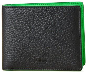 Mulberry 8 Card Wallet Black Heavy Grain