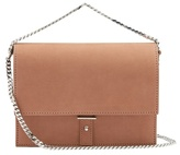 Pb 0110 AB10.1 suede cross-body bag