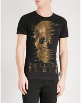 Philipp Plein Ghost-s Cotton-jersey T-shirt