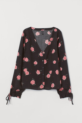 H&M Blouse with buttons
