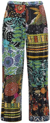 Ciao Lucia Pietro Patchwork Straight Pants