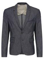 HUGO BOSS Bait Slim Fit, Cotton Sport Coat 44RBlue
