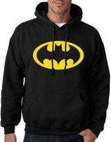 Batman CLASSIC LOGO - Mens PULLOVER HOODIE - 2X