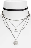 Treasure & Bond Women's Multstrand Choker Necklace
