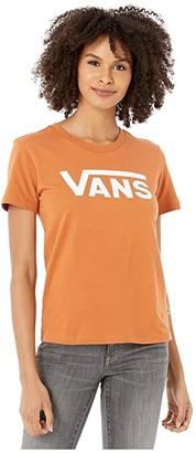 Vans Flying V Crew T-Shirt (Adobe) Women's Clothing