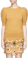 Chloé Puff shoulder cashmere sweater