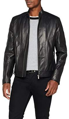 HUGO Men's Lemson Jacket, Black 001, XX-Large