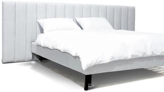 Calibre Furniture Thomas Bed Queen Cement Grey