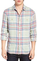 Nordstrom Men's Trim Fit Workwear Flannel Shirt