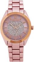 SO & CO So & Co Womens Pink Bracelet Watch-Jp15893