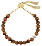 Cole Haan Tigers Eye and 12K Goldplated Bracelet