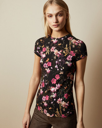 Ted Baker CALBA Fern Forest fitted T-shirt