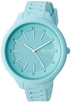 Rip Curl Women's A2803G-MIN Horizon Silicone Analog Display Analog Quartz Green Watch