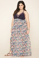 Forever 21 FOREVER 21+ Plus Size Crochet Maxi Dress