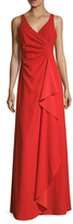 Armani Collezioni Gathered Draped Front Gown