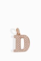 Monica Vinader Alphabet Pendant D
