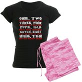 CafePress - Freddy Krueger Rhyme - Womens Novelty Cotton Pajama Set, Comfortable PJ Sleepwear