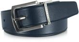 Moreschi Orlando Navy Blue/Blue Reversible Leather Belt