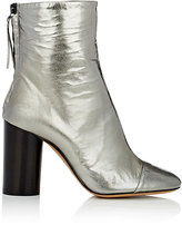 Isabel Marant Women's Grover Wrinkled Leather Ankle Boots
