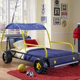 Bed Bath & Beyond Powell Dune Buggy Twin Bed in Black/Blue/Yellow Furniture